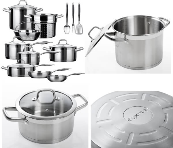 Duxtop Secura SSIB17 17-Piece Stainless Steel Induction Cookware Set Review