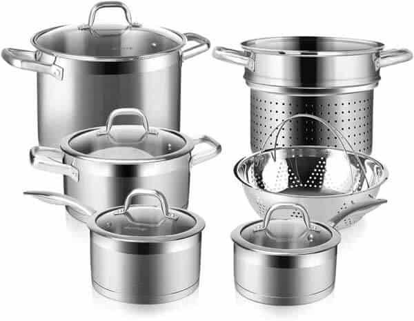 Duxtop Professional 10 PC Cookware