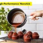 Greenpan valencia pro 11-piece ceramic nonstick cookware set new