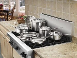 Cuisinart MCP-12N Multiclad Pro Stainless-Steel Cookware Set