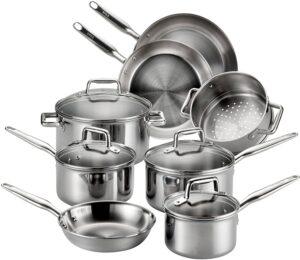 T-fal E469SC Cookware Set