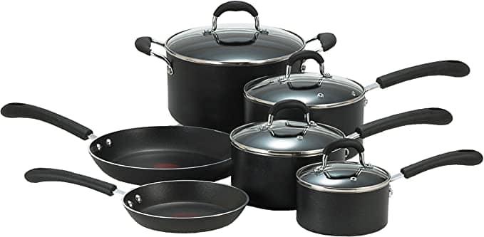 T-fal E938SA Cookware set